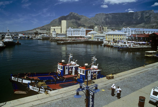 ALA00620. Cape Town harbour and waterfront Cape Province, South AFrica