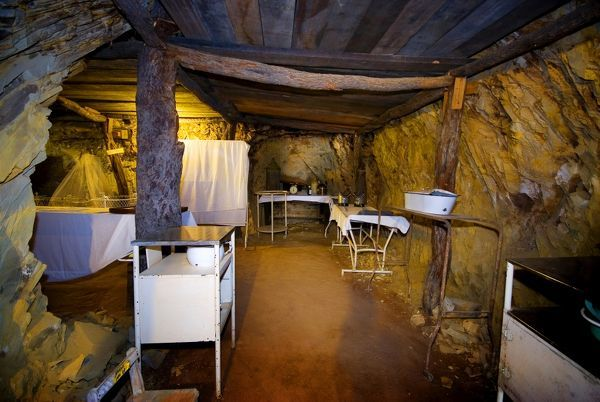 Mount Isa Underground Hospital and Museum. In 1942 with the threat of Japanese attacks a fully equipped underground emergency hospital was built, the area excavated by miners in their spare time. Now fully restored it is a tourist attraction