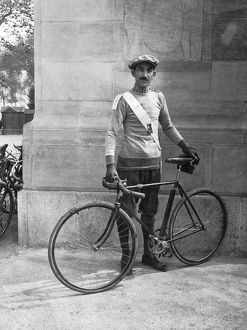 1910: a member of the Century Bicycle Club of America