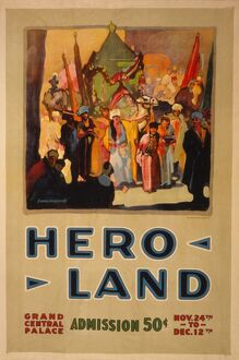 1917: a lithograph poster of historic tableau