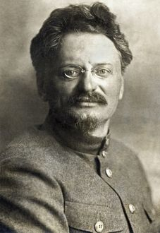 1923 portrait of Leon Trotsky
