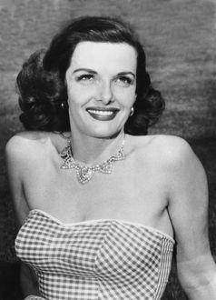 1941: portrait of actress Jane Russell