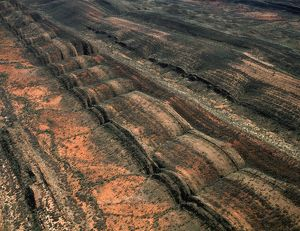 Aerial: MacDonnell Ranges,