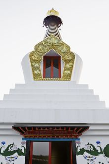 Apex of a Buddhist stupa,