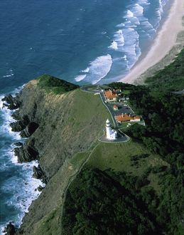 Byron Bay lighthouse, completed in 1901,