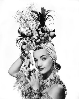 ca 1944: portrait of Carmen Miranda