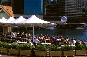 Cafe at Circular Quay East,