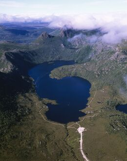 Cradle Mountain and Lake Dove,