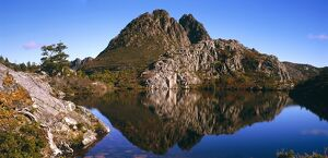 Cradle Mountain from Twisted Lakes