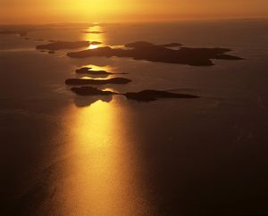 Islands in Talbot Bay,