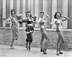 July 4 1939: bathing suit fashion show