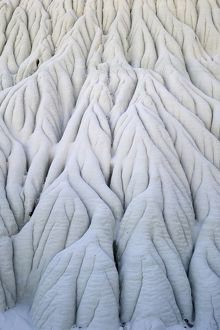 Limestone formations in the Valley of the White Ghosts,