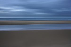 North Sea seascape,
