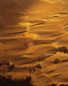 The Pinnacles Desert from the air.