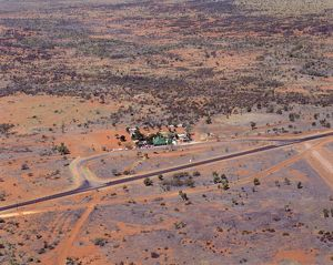 Remote outback hotel