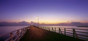 Shorncliffe Pier (1872), 350 m long,