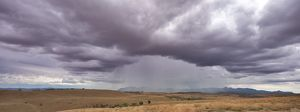 Storm clouds over the Flinders Ranges.