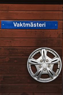 Swedish sign for janitor or caretaker,