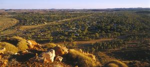 View over Alice Springs