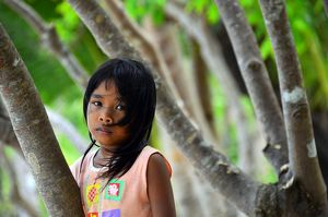 Young girl from Palawan