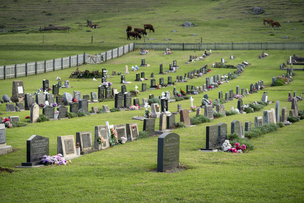 Norfolk Island Cemetery thought to have been established in the 1820s