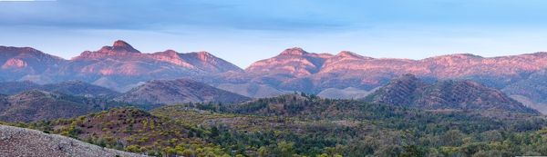 Panorama of the Flinders Ranges