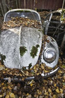 Abandoned Volkswagen car