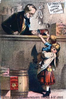 Advertising poster for Dr Price's Baking Powder,