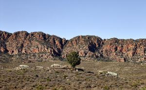Rugged landscape of the Chace Range