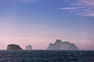 St Kilda archipelago at sunrise,