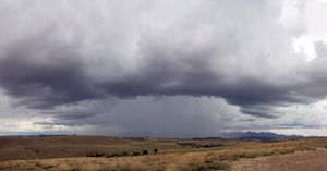 Storm clouds over the Flinders Ranges,