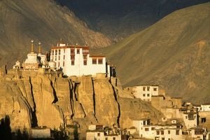 The Tibetan Buddhist gompa or monastery of Lamayuru