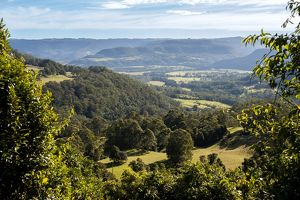 View over Kangaroo Valley