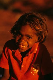 Young Aboriginal child,